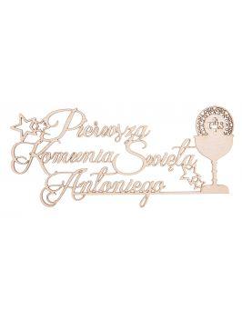 Drewniany napis LOVE 3