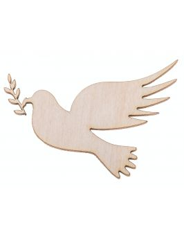 Drewniany ptaszek 4