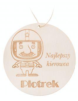 Zawieszka świąteczna bombka - Mikołaj P1
