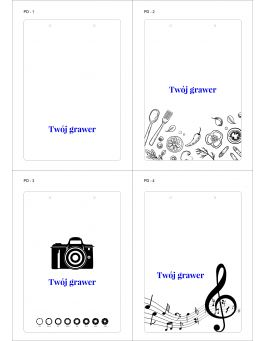 Podkładka na dokumenty A4 + TWOJE LOGO/TEKST