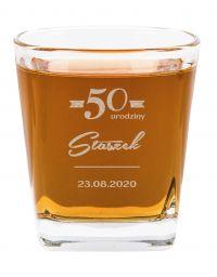 Szklanka do Whisky Urodziny prezent grawer