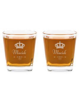 Szklanki do Whisky Na Różne Okazje grawer 2szt
