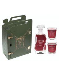 Karnister + karafka i 2 szklanki skrzynka Urodziny grawer