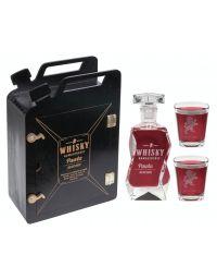 Karnister + karafka i 2 szklanki Wieczór Kawalerski grawer
