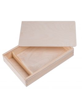 Pudełko na zdjęcia i pendrive 15x23cm