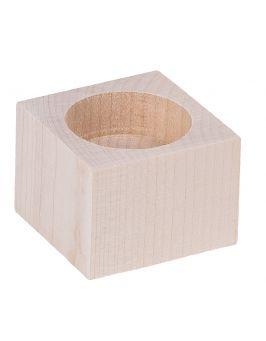 Świecznik kwadrat 4cm