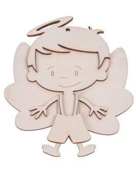 Chłopiec aniołek do składania