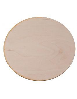 Drewniana podkładka pod talerz okrągła 25 cm