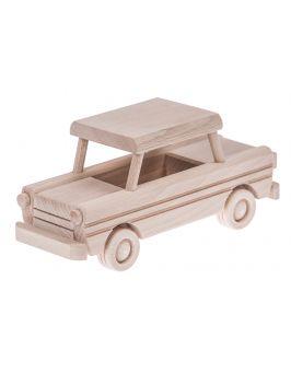 Trabant drewniana zabawka