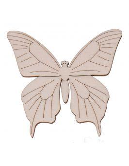 Drewniany motylek