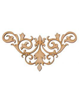 Ażurowa dekoracja B4