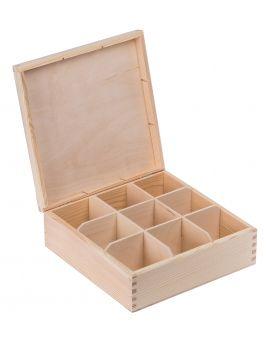 Pudełko pojemnik na herbatę herbaciarka NELA 9