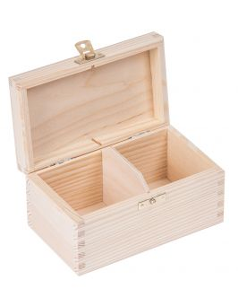 Pudełko pojemnik na herbatę herbaciarka NELA 2-Z