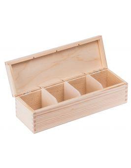 Pudełko pojemnik na herbatę herbaciarka NELA 4P