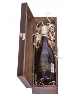 Pudełko na wino CARMEN II - ciemny brąz