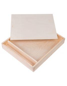 Pudełko na album i pendrive 34x39 cm