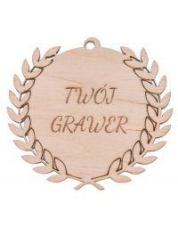 Medal drewniany 3 mm + GRAWER