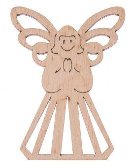 Drewniany aniołek 3