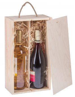 Pudełko pojemnik na wino CARMEN VI
