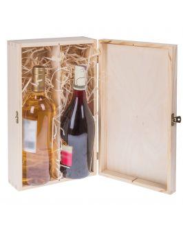 Pudełko pojemnik na wino CARMEN V
