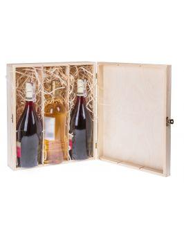 Pudełko pojemnik na wino CARMEN III