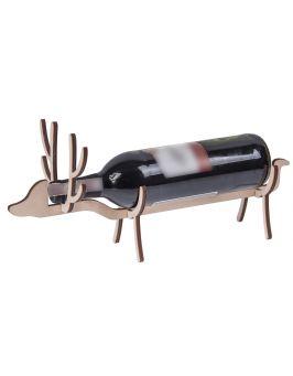 STOJAK na wino podstawka renifer DECOUPAGE -40%!