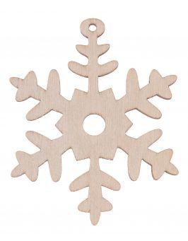Zawieszka świąteczna - Płatek śniegu S6