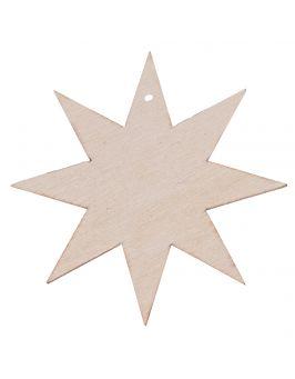 Zawieszka gwiazdka 6ramienna 7cm S14