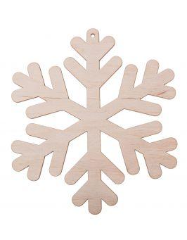 Zawieszka świąteczna płatek śniegu S17 8x7cm