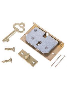 Zamek do pudełka z kluczykiem