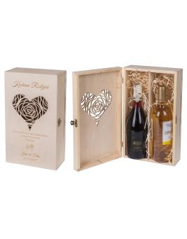 Pudełko na dwa wina Carmen V + GRAWER