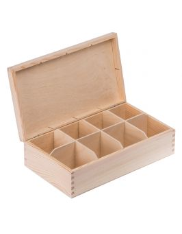 Pudełko pojemnik na herbatę herbaciarka 8
