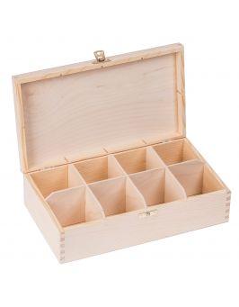 Pudełko pojemnik na herbatę herbaciarka 8-Z