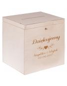 Pudełko na koperty 25x29x30 cm + GRAWER