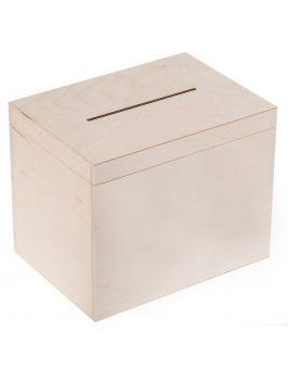 Skrzynia, skrzynka na koperty  29x20x23cm bez zamka