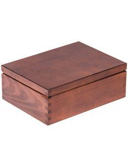 Pudełko 22x16 orzech