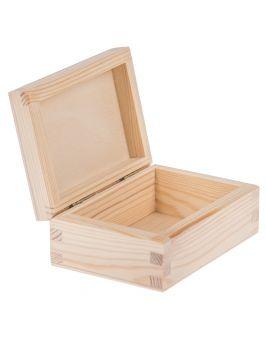 Drewniane pudełko 8,5x12 cm