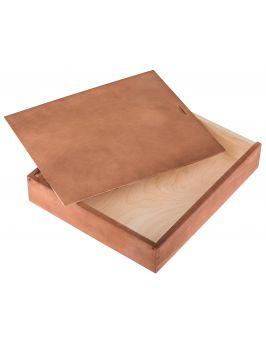 Pudełko na album 26x31 orzech