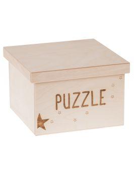 Pudełko na zabawki PUZZLE duże