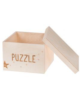 Pudełko na zabawki PUZZLE małe