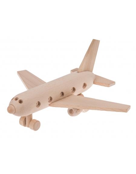 Samolot pasażerski okrągły
