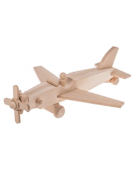 Drewniany samolot - AWIONETKA