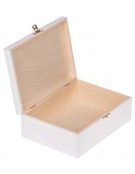 Białe pudełko 22x16cm z metryczką dziecka