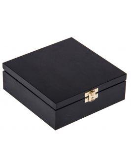 czarne pudełko 16x16cm