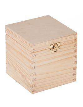 Pudełko 13x13x13,5cm z zapięciem