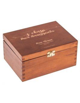 Pudełko z grawerem na Dzień Nauczyciela