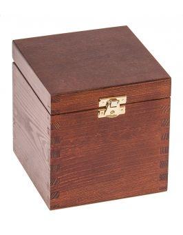 Pudełko 13x13x13,5cm ORZECH