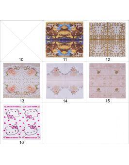 SERWETKI ŚWIĄTECZNE ozdobne DECOUPAGE 16 wzorów!