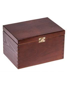 Pudełko 22x16x13,5cm - orzech