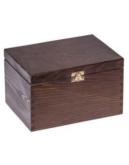 Pudełko 22x16x13,5cm - ciemny brąz